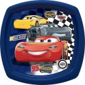 Cars 3 Fast Friends Square Shaped Plate
