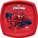 Spider-man Go Square Shaped Plate
