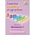 Essential Spelling Programme - Workbook 3