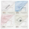 Hooded Towel and Facecloth Set - White Star Range