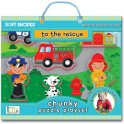 Chunky Puzzle Playset - To the Rescue