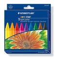 Staedtler Super Jumbo Wax Crayons 14mm 9's