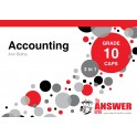 The Answer Accounting Grade 10 3-in-1 CAPS