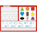 Mathematics Dry Wipe Board Grade R