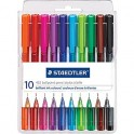 Staedtler Coloured Ballpoint Pens 10s