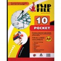 Flip File A3 10 Pocket