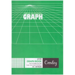 Croxey A4 Graph Book 36p JD185