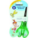 Marlin Kids Scissors Blunt Nose 130mm Neon Glitter Jelly Handle