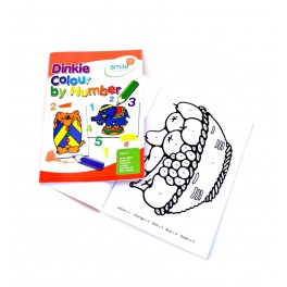 Dinkie Colour by Numbers A5