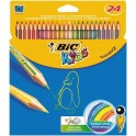BIC Tropicolour Pencil Crayons 24s