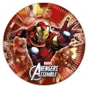Avengers Assemble Multihero Paper Plates 23cm (8's)
