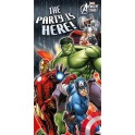 Avengers Assemble Multihero Door Banner