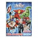 Avengers Assemble 200pg Colouring Book with Stickers