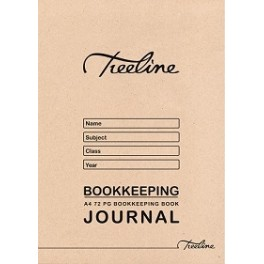 Treeline A4 72pg Bookkeeping Journal