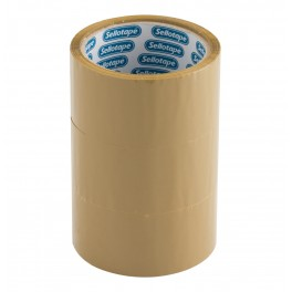 Sellotape Buff Tape 48mm x 50m