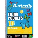 Butterfly A4 Filing Pockets 50mic 10's
