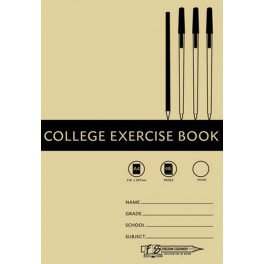 Freedom Stationery A4 48 page Unruled Exercise Book