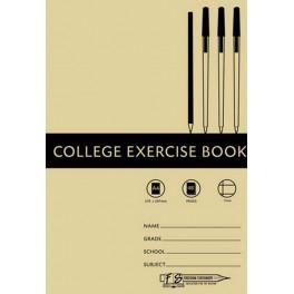 Freedom Stationers A4 72pg 17mm Ruled Exercise Book