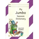 My Jumbo Purple Dictionary (Sassoon Font)