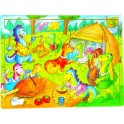 Marlin Kids Wooden Puzzle - 48 Piece