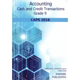 Accounting and Financial Literacy Workbook Grade 9
