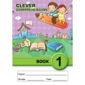 Clever Comprehension Book 1 (Junior Font)