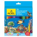 Adel Watercolour Pencils 24's
