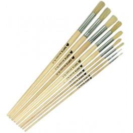 Paint Brush Short Handle Round Size 8