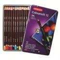 Derwent Coloursoft Tin 12