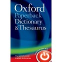 Oxford Paperback Dictionary & Thesaurus 3e