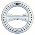 Maped Protractor 360deg 12cm