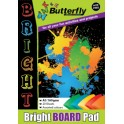 Butterfly A3 Board Pad - Bright - 20 sheet