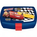 Cars 3 Fast Friends Junior Latch 2 Sandwich Box