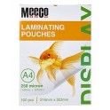 Meeco A4 Laminating Pouch 250 Micron 100s