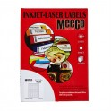 Meeco Labels 117mm Dia 100s Cd/Dvd 14mm I/D