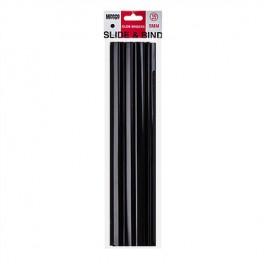 Meeco Slide Binders Black 5mm 10s