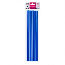 Meeco Slide Binders Blue 5mm 10s