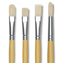 Meeco Paint Brush Hog Hair No.4 Flat