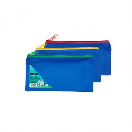 Meeco Pencil Bag Small Nylon Blue