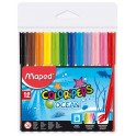 Maped Color Peps Ocean Felt Tip Pens 12s