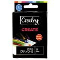 Croxley Create 8mm Wax Crayons 24s