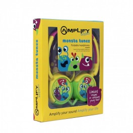 Amplify Kiddies Monsta Tunez Volume Limiting Headphones