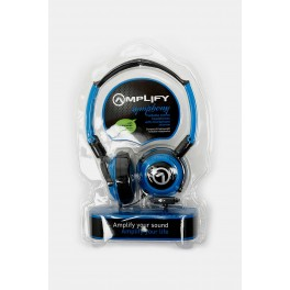Amplify Symphony Headphones With Mic Black & Blue