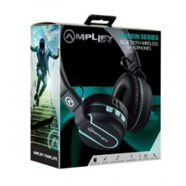 Amplify Pro Fusion Series Bluetooth Headphone Black & Blue