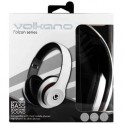 Volkano Falcon Series Headphones With Mic White