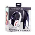 Volkano Impulse Series Headphones With Mic White