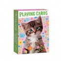 Kitties Playing Cards
