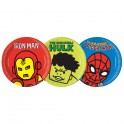 Avengers Team Power Paper Plates 23cm (8's)