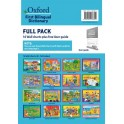 Oxford First Bilingual Dictionaries: Full Pack (16 Wall Charts plus free User Guide)
