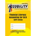 Accobility Financial Literacy:  Accounting for Grade 9